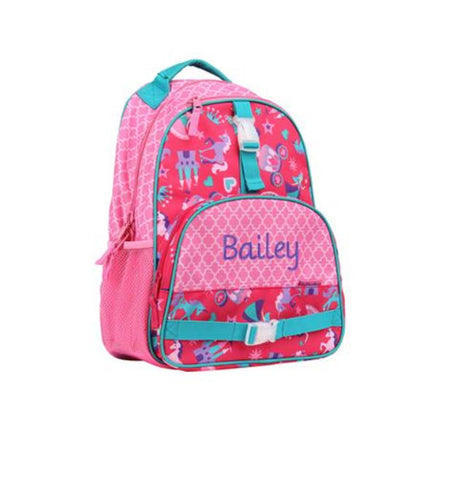 Personalized Princess Backpack by Stephen Joseph