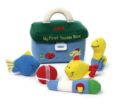 Personalized My First Tackle Box Playset by Gund