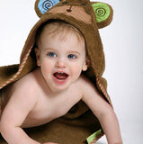 Toddler's Personalized Max the Monkey Hooded Towel