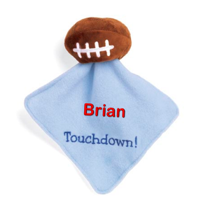 Personalized Football Security Blanket
