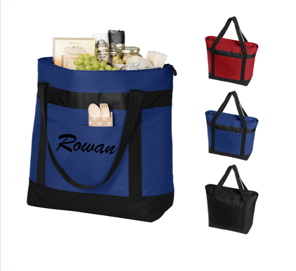 Personalized Large Thermal Tote