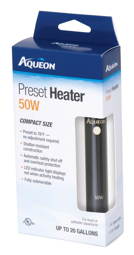Aqueon Preset Aquarium Heater 50 watt