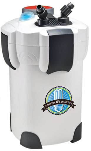 AQUATOP CF-500UV Canister Filter with 9W UV Sterilizer