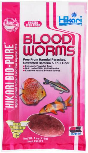 Hikari Blood Worms 4 oz