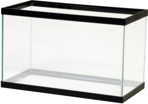 Aqueon 10 gallon aquarium black 20x10x12