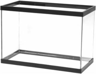 Aqueon 20 gallon aquarium black 24x12x16
