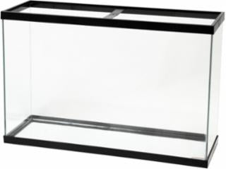 Aqueon 45 gallon aquarium black 36x12x24