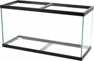 Aqueon 90 Gallon Aquarium Black 48x18x24