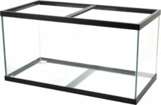Aqueon 120 Gallon Aquarium Black 48x24x24
