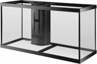 Aqueon 90 Gallon Aquarium 1 Overflow Black 48x18x24