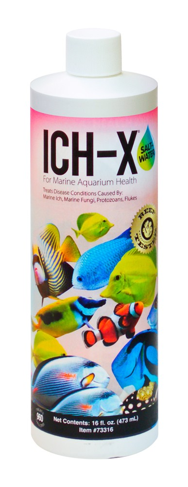 Aquarium Solutions Ich-X Saltwater 16oz
