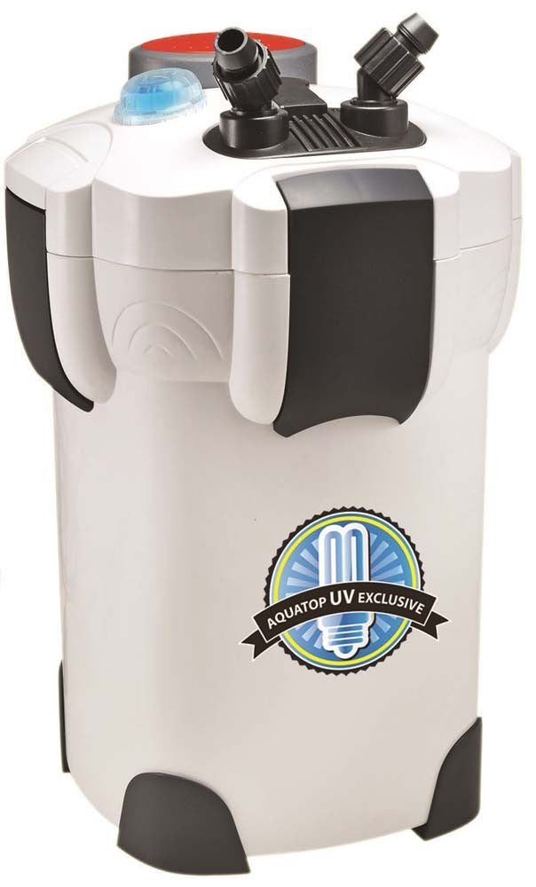 AQUATOP CF-400UV Canister Filter with 9W UV Sterilizer