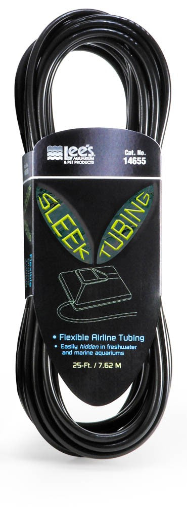 Lee's Sleek Air Line Tubing Black 25ft