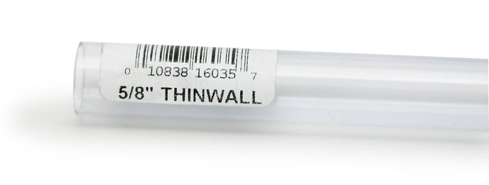 Lee's Thinwall Rigid Tubing 5/8in x 36in