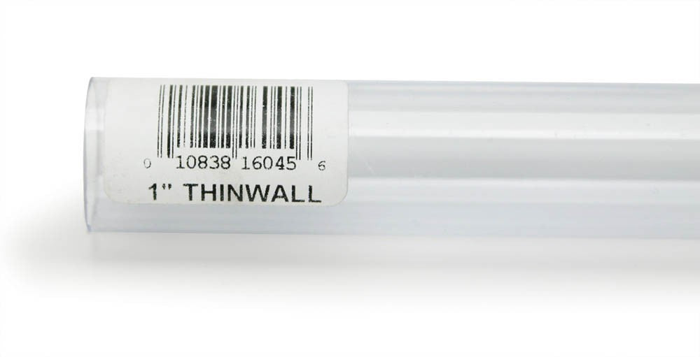Lee's Thinwall Rigid Tubing 1in x 36in