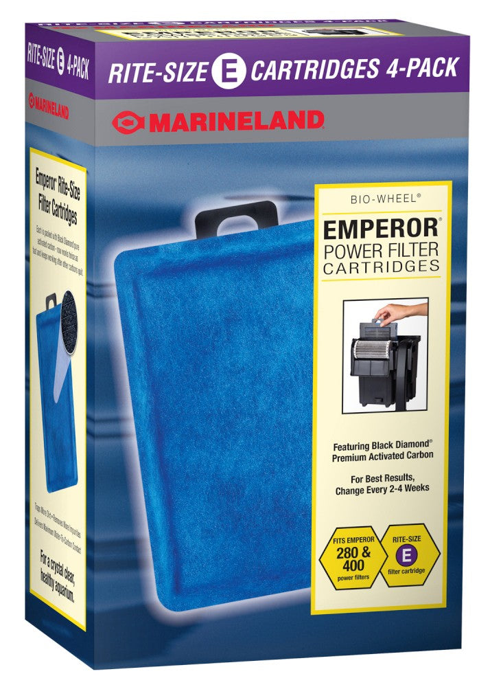 Marineland #137 Emperor 400 Cartridge 4pk