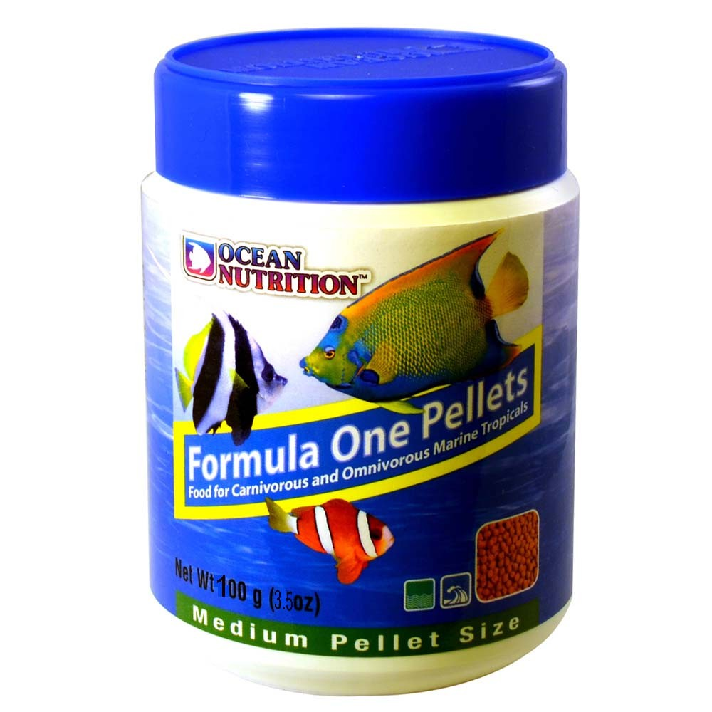 Ocean Nutrition Formula One Marine Pellet Medium 3.5 oz.