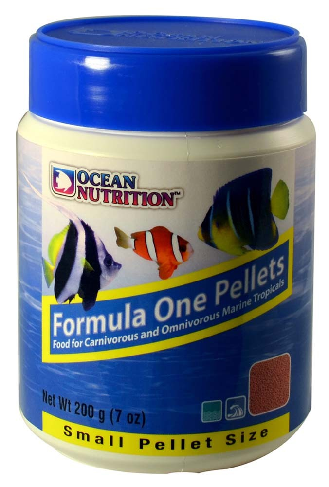 Ocean Nutrition Formula One Marine Pellet Small 7 oz.