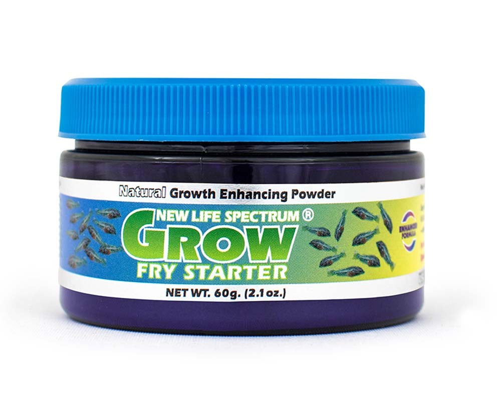 New Life Spectrum Grow Fry Starter Fish Food 60g