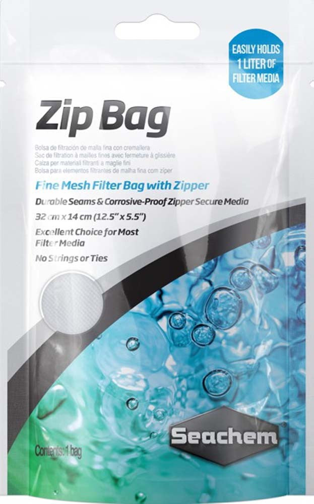 SeaChem Small Zip Mesh Filter Bag