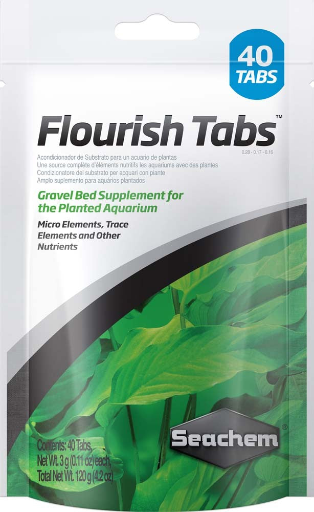 SeaChem Flourish Plant Nutrients Tablets 40pk