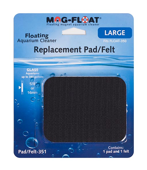 Mag Float Replacement pad/felt 350 large glass
