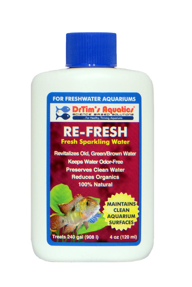 Re-Fresh Freshwater 4oz (Treats 240 Gallons)