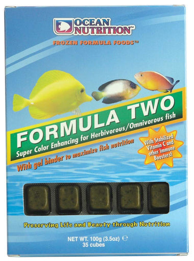 Ocean Nutrition Frozen Formula Two Cube 3.5 oz.