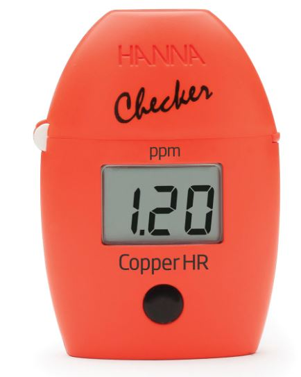 Copper Hanna Checker