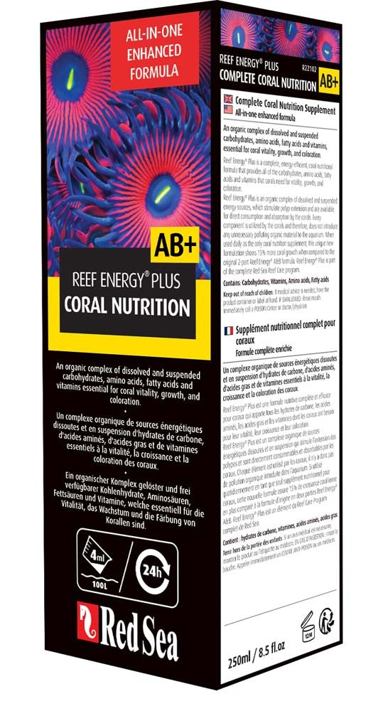 Reef Energy Plus All-In-One Coral Superfood (250ml) - Red Sea