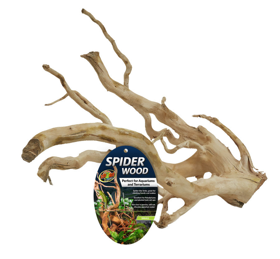 "ZM Spider Wood Brown 8-12"" Small"