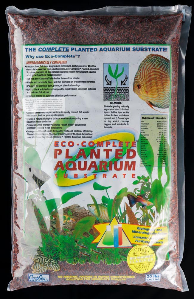 CaribSea Eco Complete Planted Substrate Red 20lb