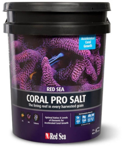 Red Sea Coral Pro Red Sea Salt 175 Gallon (Pail)