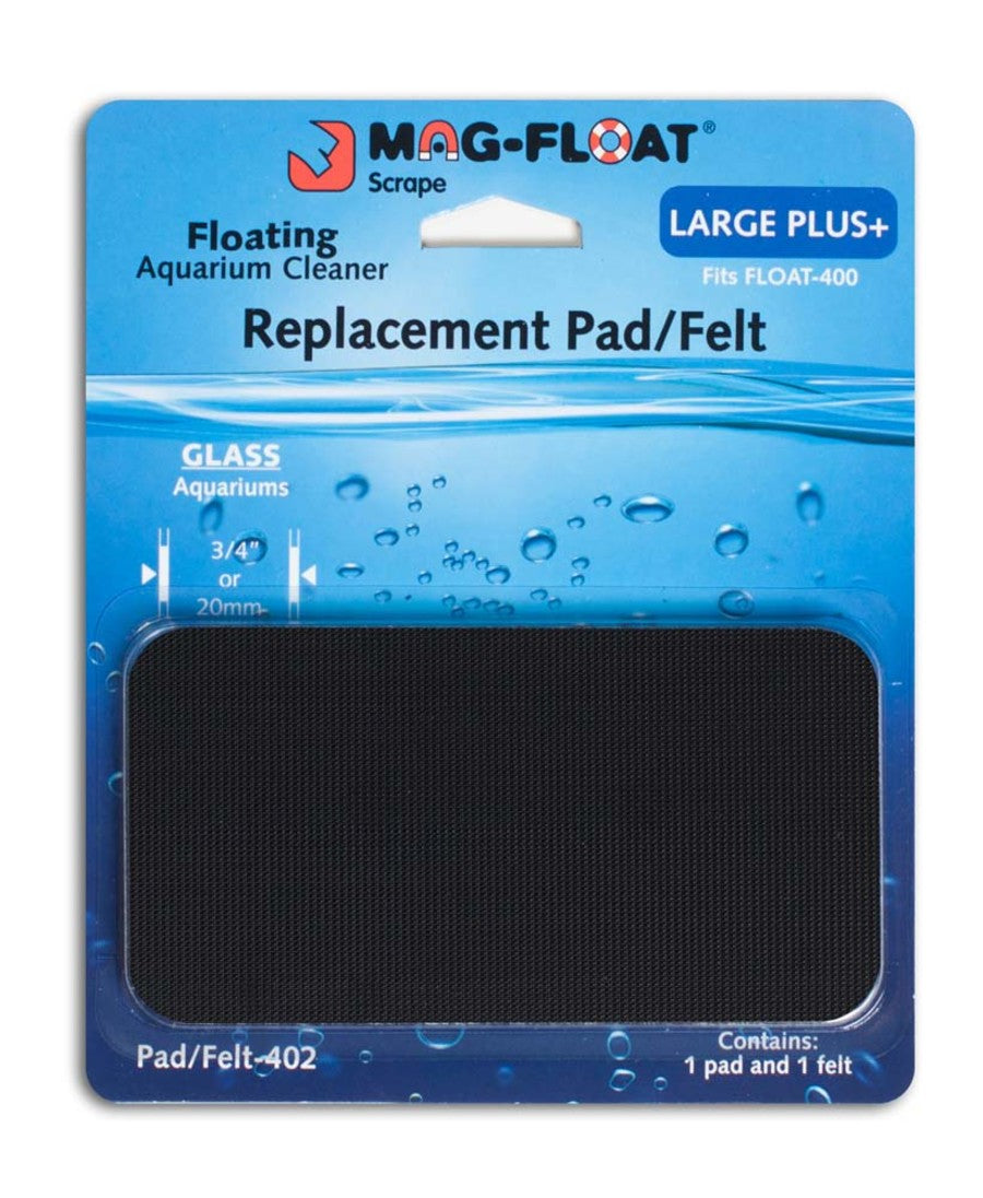 Mag Float Replacement pad/felt 400 large + glass