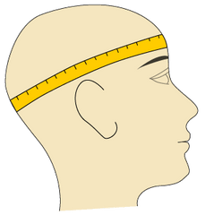 Kakadu hats - how to measure your head