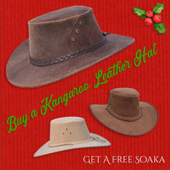 Kakadu Traders Australia 12 Deals of Xmas - 25% off Nullabour and Ranger Leather Hats
