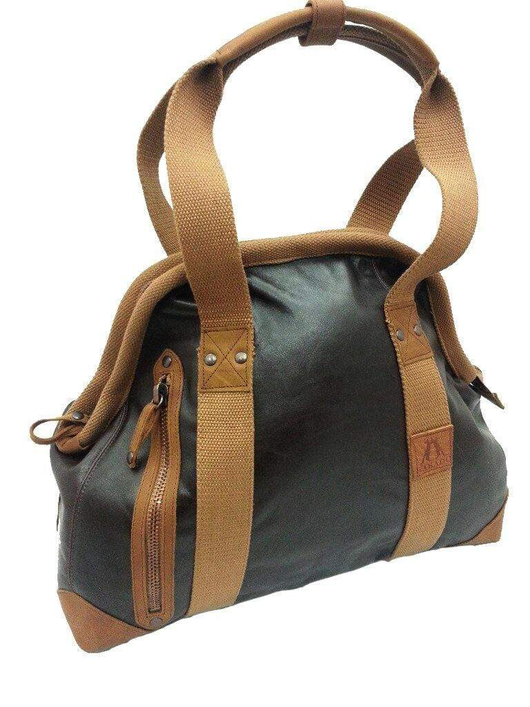 Leather Doctor's Bag in Dark Brown