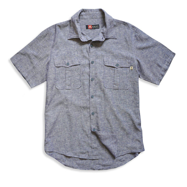 Hayman Shirt in Blue - Kakadu Traders Australia