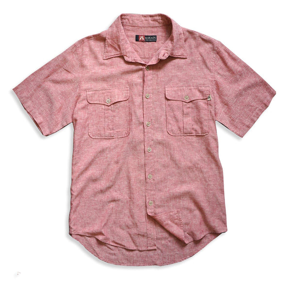 Hayman Shirt in Red - Kakadu Traders Australia