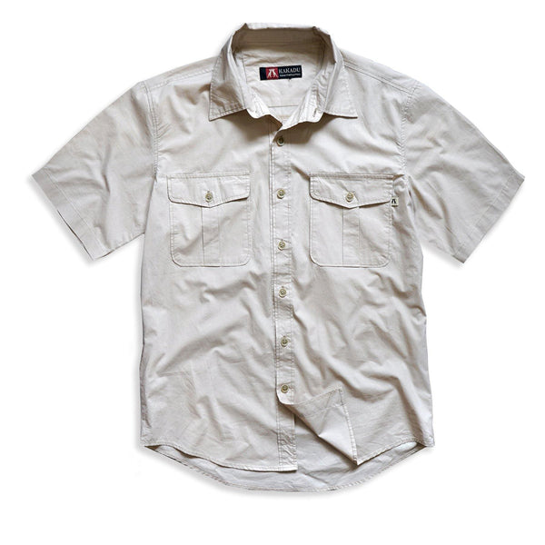 Hayman Shirt in Bone - Kakadu Traders Australia