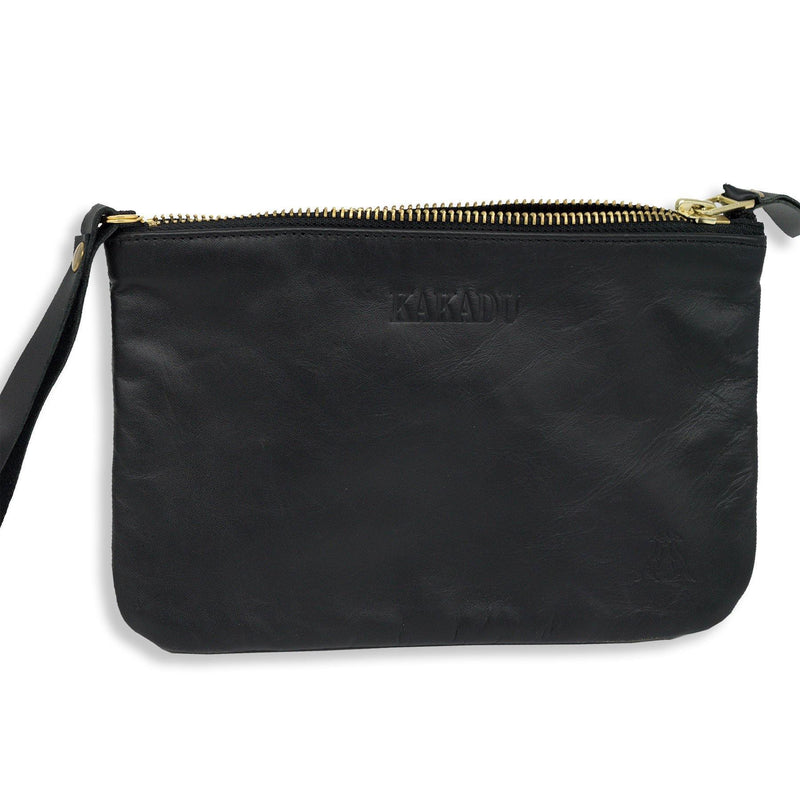 Parma Pouch Wallet in Black