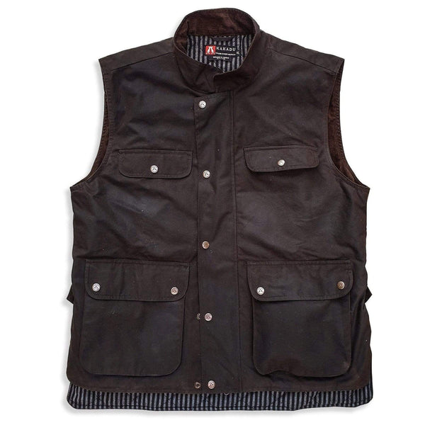 Iron Bark Vest in Brown - Kakadu Traders Australia