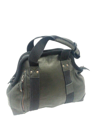 Cowhide Doctor's Bag In Black