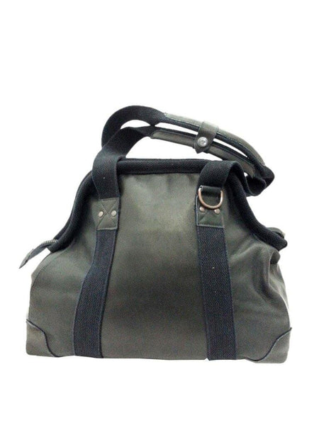 Leather Doctor's Bag in Black