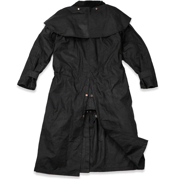 Workhorse Drovers Coat in Black - Kakadu Traders Australia