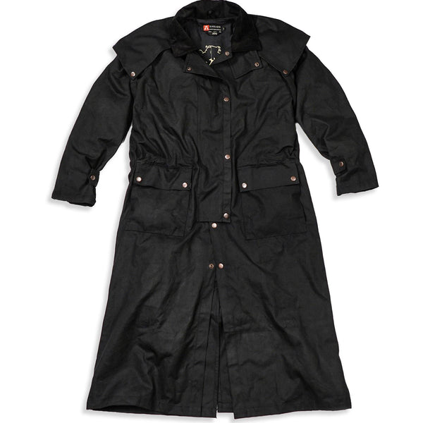 Workhorse Drovers Coat in Black