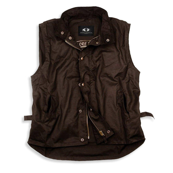 Workhorse Vest in Brown - Kakadu Traders Australia