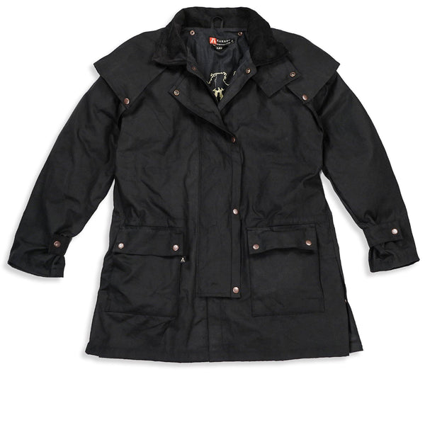 Workhorse Drovers Jacket in Black