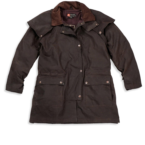 Workhorse Drovers Jacket in Brown - Kakadu Traders Australia