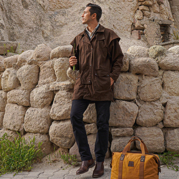 Workhorse Drovers Jacket in Brown